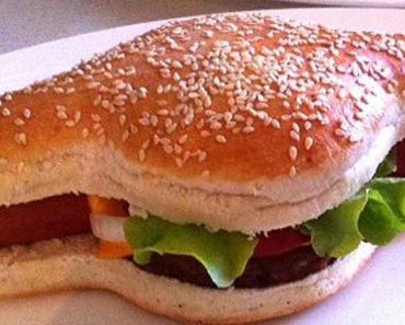 The Hamdog Is Literally A Cross Between A Hamburger And A Hotdog