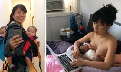 hein koh artist mom breastfeeding twins