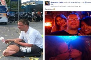 Infamous German 'Beggar' Spotted Partying in Bali, Indonesia