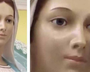 Viral Video Shows 'Crying' Virgin Mary Statue In Honduras