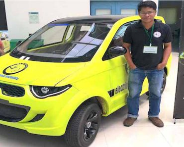 Proud To Be Pinoy: OFW Creates His Own Electric Vehicle