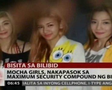 Mocha Girls, Celebrities Allegedly Performed inside Bilibid during De Lima's Term