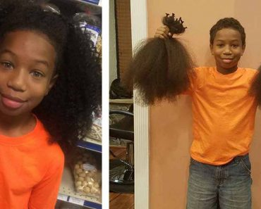 This 8-Year-Old Boy Grew His Hair To Donate As Wigs For Kids With Cancer