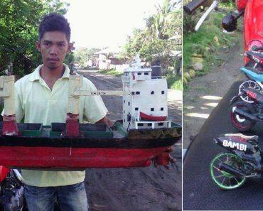 This Guy Makes Various Vehicle Models from Recycled Materials