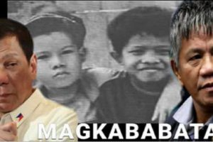 Duterte and Matobato as Childhood Friends? Impossible!