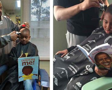 This Awesome Barbershop Gives Kids Discount If They Read Books Out Loud
