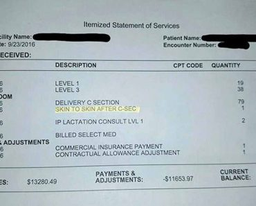 Viral: Hospital Charges New Mom With $39.99 So She Can Hold Her Baby