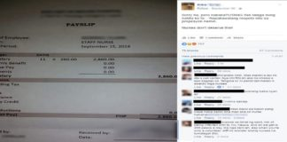 Photo of Nurse's Payslip Goes Viral