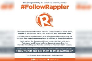 After Rappler Lost 50k Followers, Supporters Rally for #FollowRappler