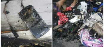 House Fire Caused by Improper Charging of Samsung S4