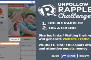 Rappler Quickly Losing Likers/Followers after #UnlikeRapplerChallenge Goes Viral