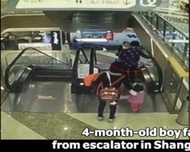 4-Month-Old Baby Dies after Grandma Loses Balance on Escalator
