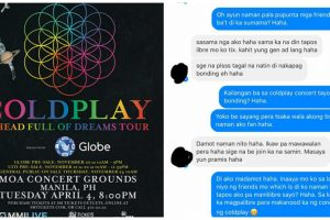 Freeloader Invites Friend to Coldplay Concert to Get a Free Ticket