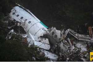 Plane Carrying Popular Brazilian Football Team Crashes In Colombia