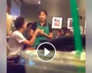Video of Furious Starbucks Customer Enrages Netizens
