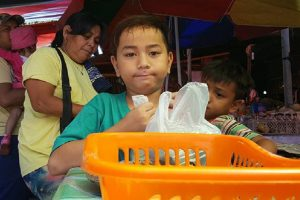 Handsome 'Kakanin Boy' Goes Viral as He Helps Parents