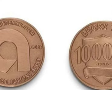This Luck Penny Is Worth $1,000. Pick it Up If You Find It!