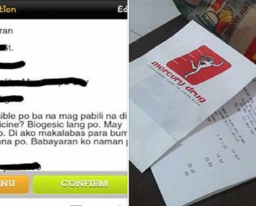 Netizen Thanks McDo for Buying Her Medicine along with Order