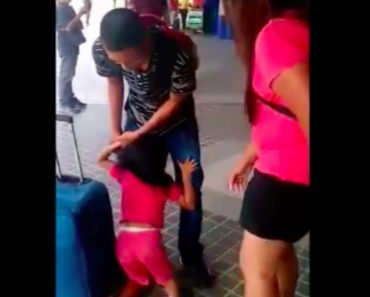 Mom of Crying Girl in Viral Video Sheds Light about the Plight of OFW Parents