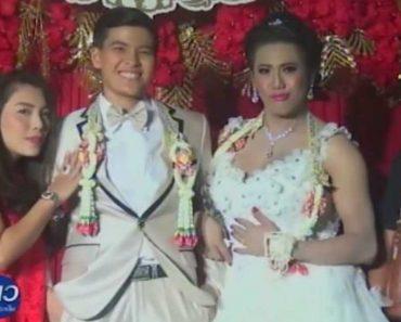 LOOK: Female Groom Marries Male Bride in Thailand