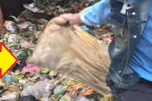 Workers Sift Through 8 Tons of Garbage to Find $30k in Pillow a Man Accidentally Threw