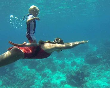 This 3-Year-Old Freediver Can Hold His Breath 10m Underwater
