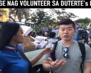 Japanese Guy Volunteers at Duterte's Kitchen
