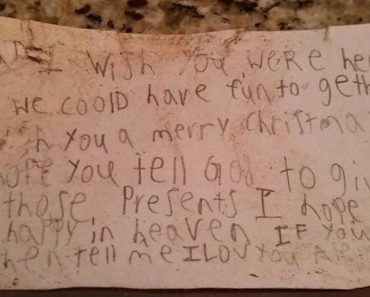 Family Finds Christmas Note inside Balloon Sent by Kid to Dead Dad