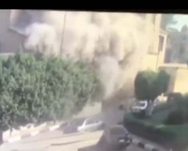 Footage Reveals Exact Moment ISIS Suicide Bomber Attacks Church In Egypt