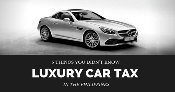 luxury car tax