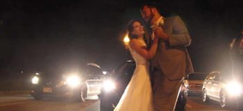 Newlyweds Share First Dance On Highway Because Of A 2-Hour Traffic Jam