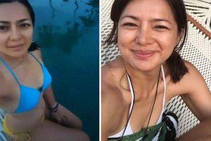 Alice Dixson Shows Off Bikini Bod in Palawan Trip