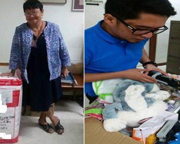Hong Kong OFWs Send Big Balikbayan Box of Donations to DSWD
