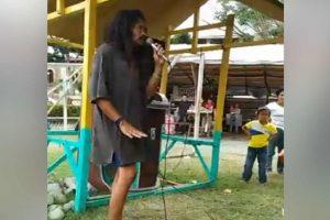 'Crazy Beggar' Goes Viral for Golden Voice at Fiesta Fair