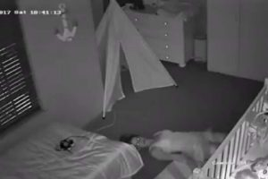 VIRAL: Mom Does Army Crawl to Sneak Out of Son's Room