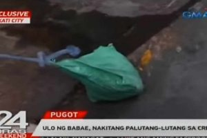 Woman's Head Found Floating at Creek in Makati