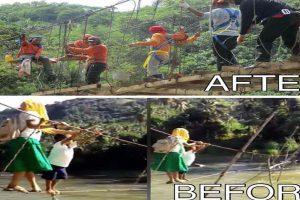 Village Gets Hanging Bridge after Story Goes Viral