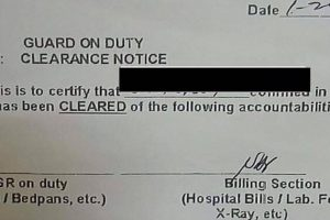 Netizen 'Curses' Duterte for Dad's Zero Balance Hospital Bill