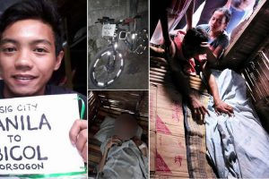 Biker Cycles from Manila to Sorsogon to See Dying Brother, Sadly Arrives Hours Too Late