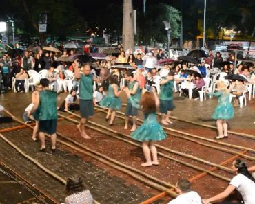 Video of Foreigners Performing 'Tinikling' Goes Viral