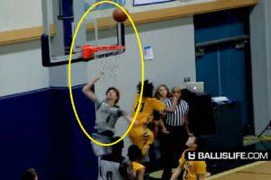 High School Basket Player Scores 92 Points