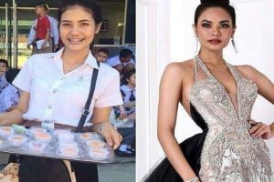 Miss Thailand Helped Mother Earn Money as a Student