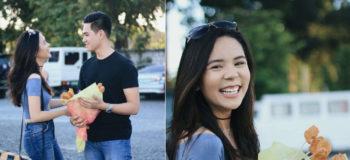 Teen Receives Nuggets Bouquet from Boyfriend