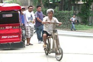 Old Man Makes Wooden Bicycles in Cebu