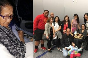 Pinay Grandma Kicked from Business Class Because Crew Can't Assist Her