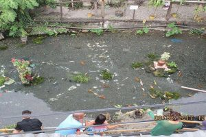 Dirty Creek in Iligan City Transformed into a Koi Pond