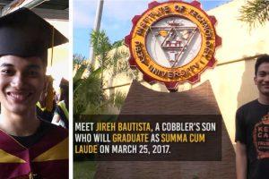 Son of Shoe Repairman, Graduates Summa Cum Laude