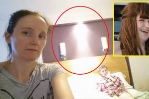 """Mom Captures Dying Daughter's """"Guardian Angel"""" in Photo"""