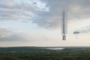 'Hanging' Skyscraper to be Built above the Earth in the 2020s?