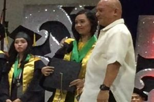 Cum Laude Graduate's Security Guard Dad Receives More Applause on Stage